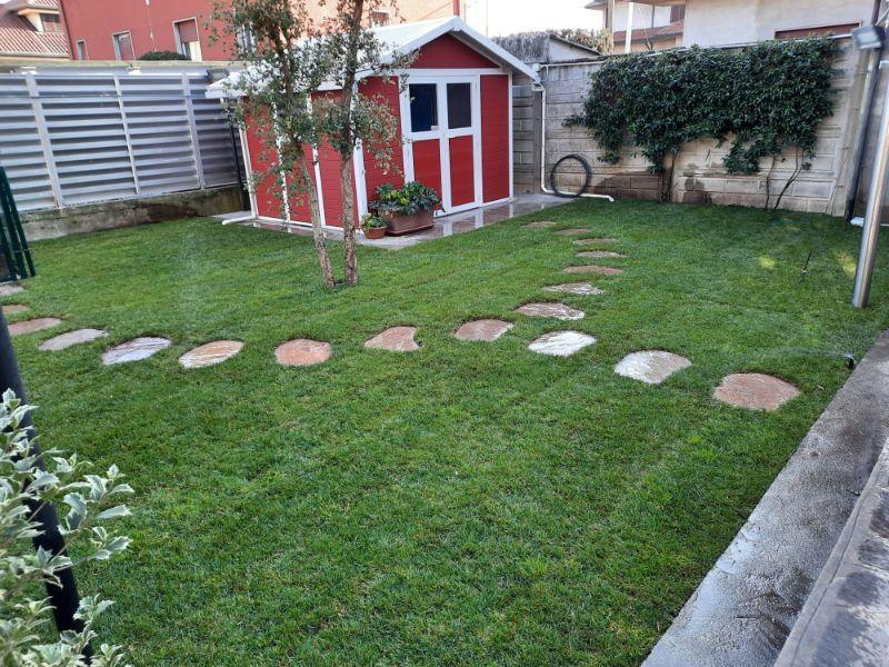 Prato a rotoli giardino